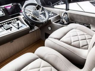 UK debut of Sunseeker's new Manhattan 52 at the Southampton Boat Show