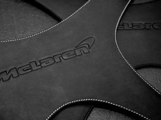 Exclusive McLaren products, luggage straps