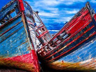 Shipwrecks Isle of Mull, Scotland