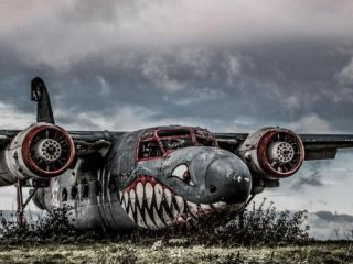 Aeroplane Graveyard, Stratford-upon-Avon, Long Marston Airfield