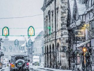 Stratford-upon-Avon photography, snowfall